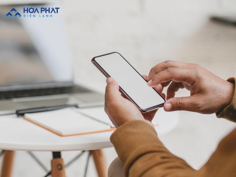 Bật/tắt điều hòa dễ dàng và đơn giản với smartphone