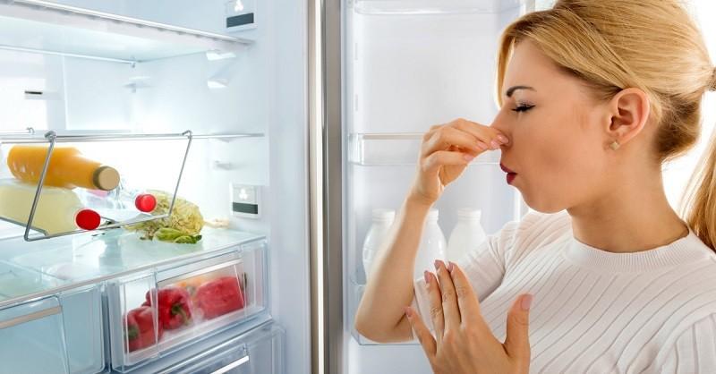 Tủ lạnh dùng lâu sẽ có mùi hôi khó chịu ảnh hưởng sức khỏe người dùng.