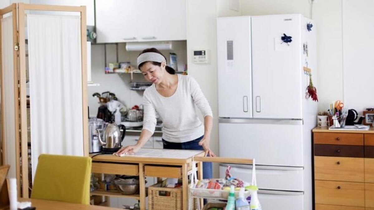 Vệ sinh nhà cửa sạch sẽ để hạn chế chuột lại gần