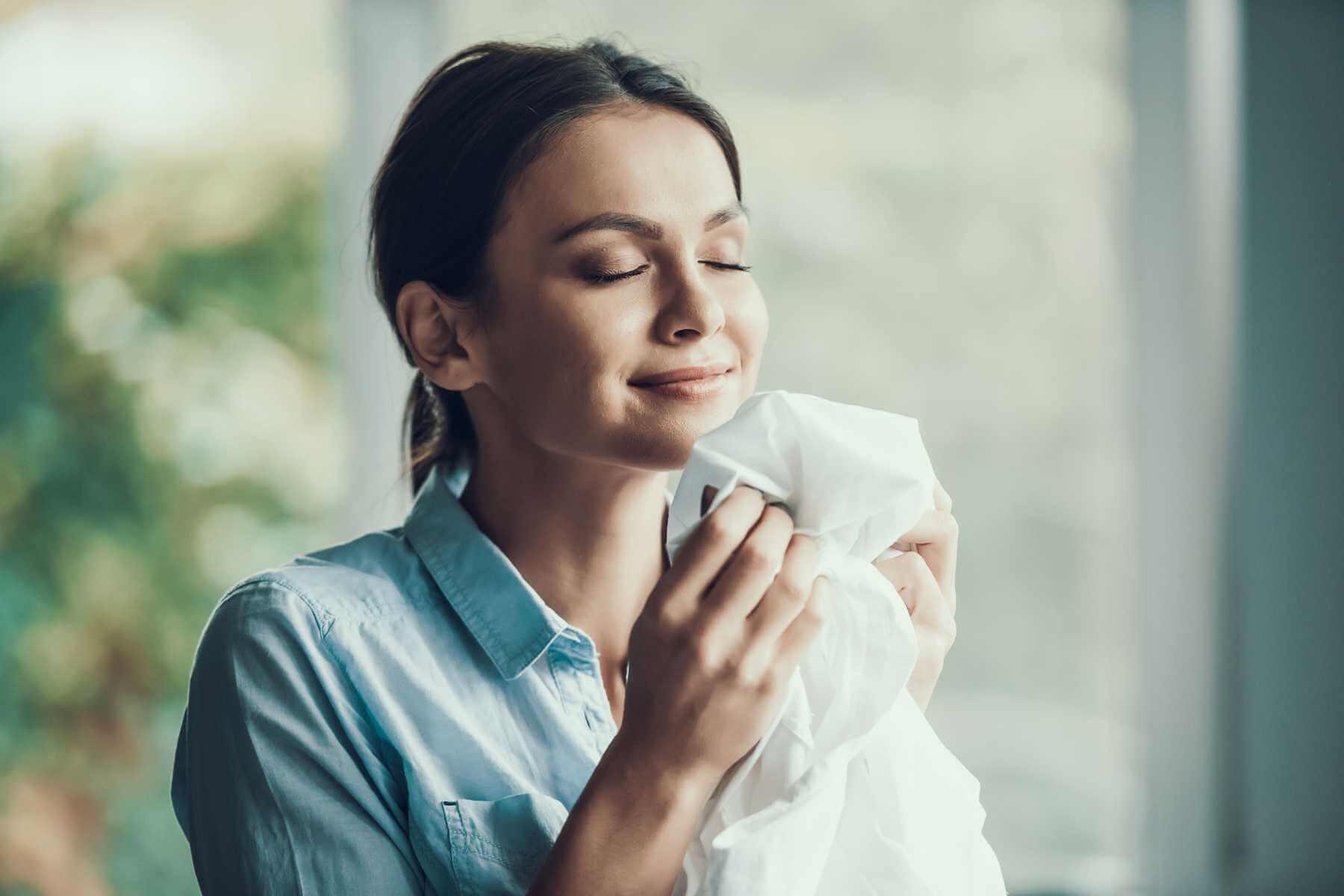 Quan tâm đến mùi hương của nước giặt và tính năng kèm theo