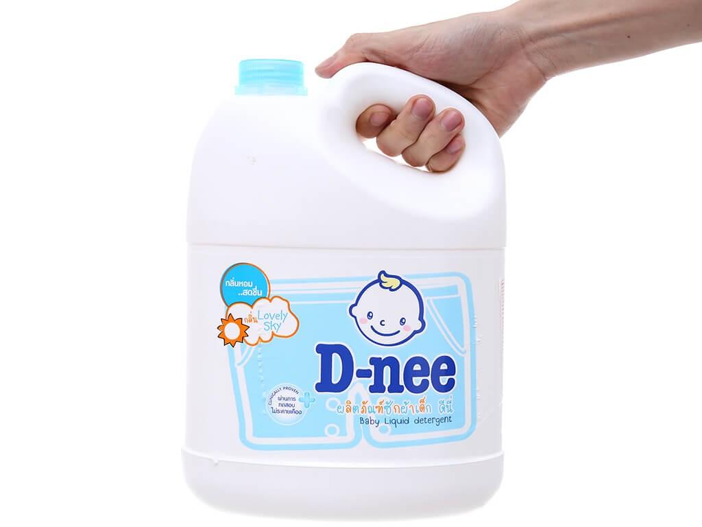 Nước giặt D-nee khá an toàn cho trẻ nhỏ