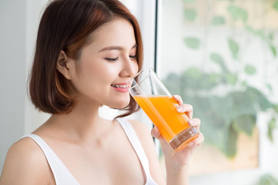 Nhữngtác dụng của nước cam đối với sức khỏe mỗi người