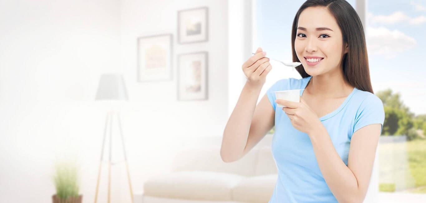 Sữa chua cung cấp nhiều dưỡng chất cho cơ thể