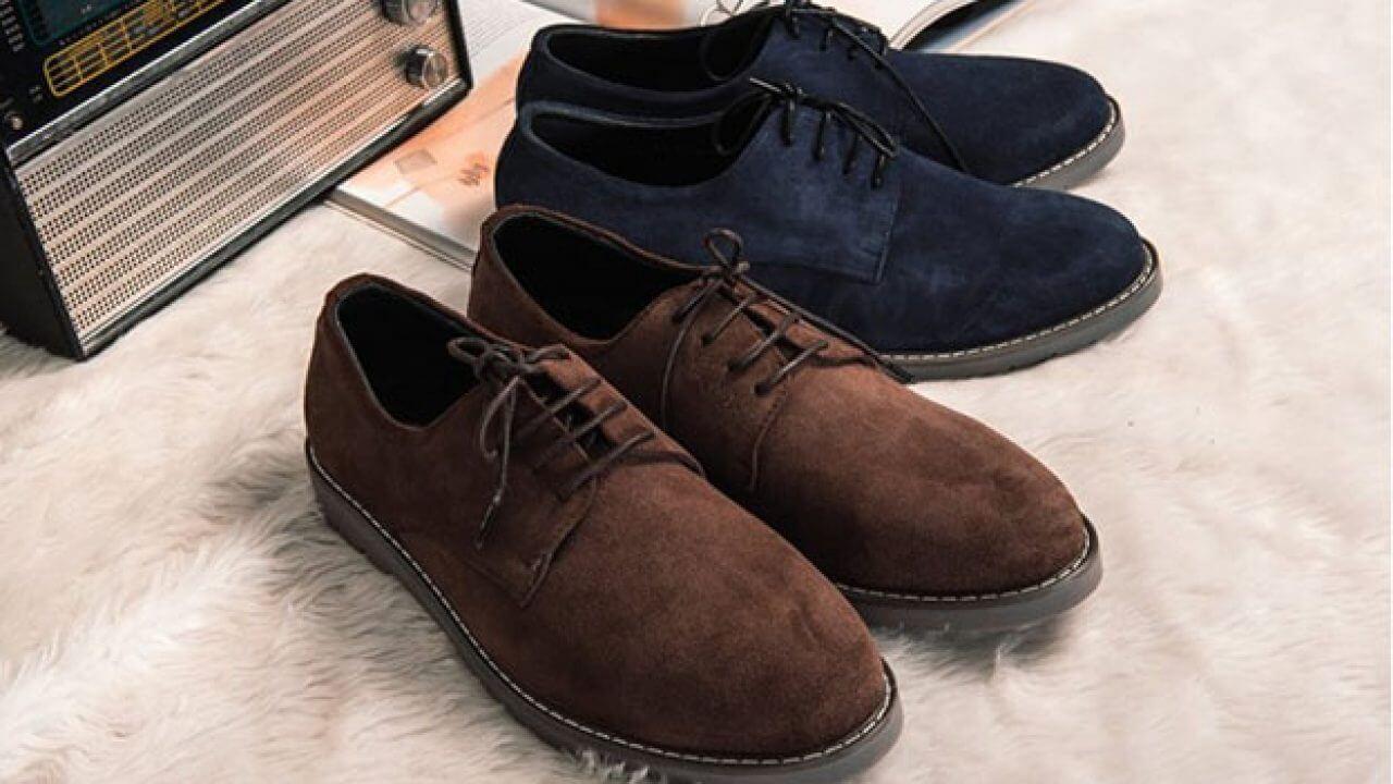 Cách lấy lại màu cho giày da lộn