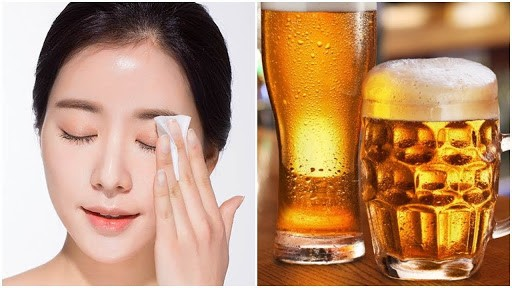 Rửa mặt với bia có những tác dụng gì. Nên thực hiện hay không?
