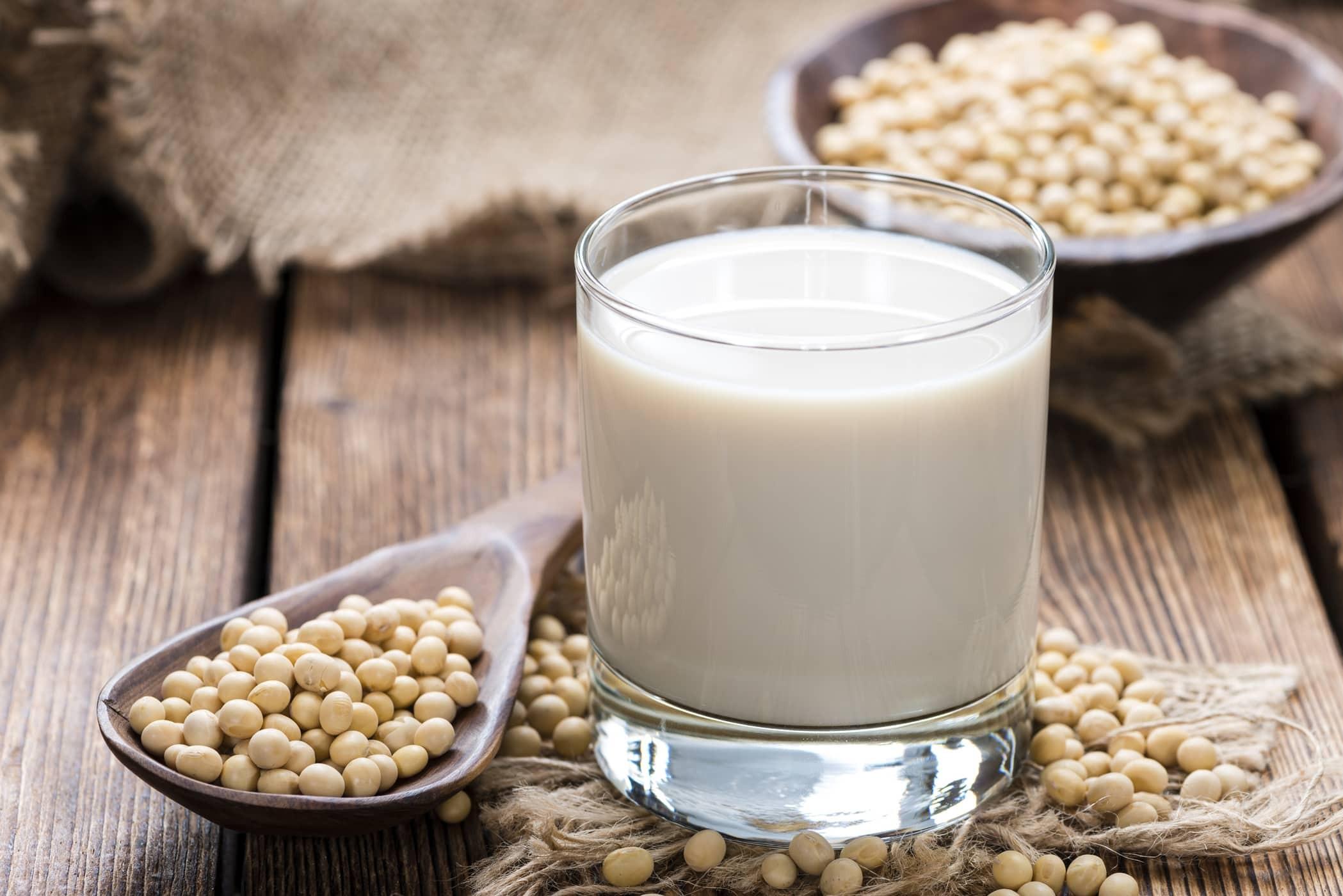 Những thành phần quan trọng có trong sữa đậu nành