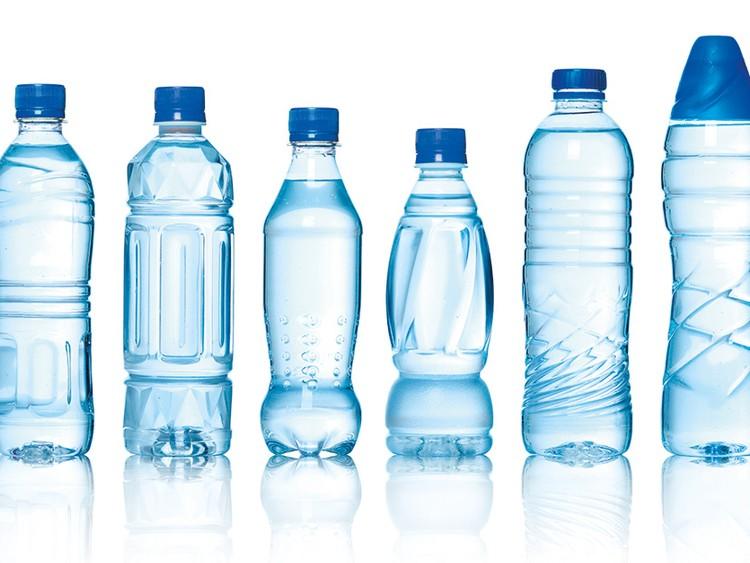 các loại nước uống đóng chai trên thị trường