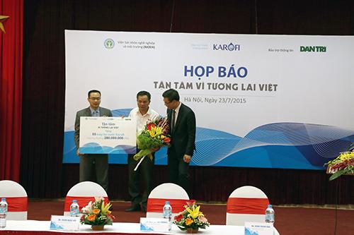 55 máy lọc nước đầu tiên lắp đặt tại xã Đông Lỗ, huyện Ứng Hoà, Hà Nội