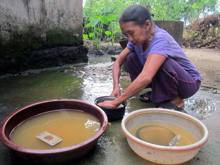Máy lọc nước Karofi với nguồn nước giếng khoan