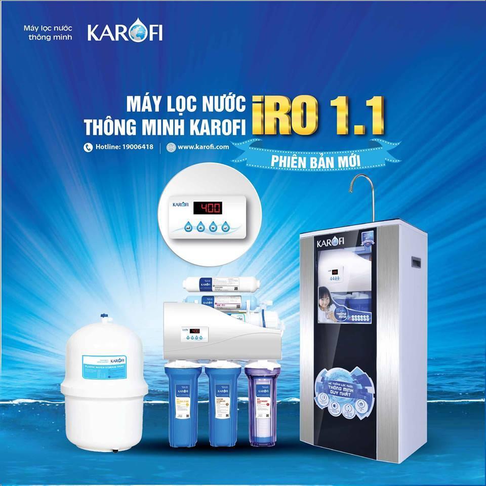 Trước đây bình lọc nước uống trực tiếp là lựa chọn của nhiều gia đình để có nguồn nước uống được sạch hơn, hạn chế cặn bẩn từ nước đun sôi.Tuy nhiên sau 1 thời gian nó đã dần vắng bóng do sự ra đời của máy lọc nước thông minh Karofi.