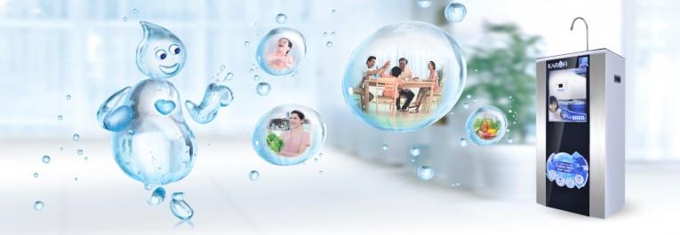 Hệ thống lọc nước tinh khiết RO Karofi