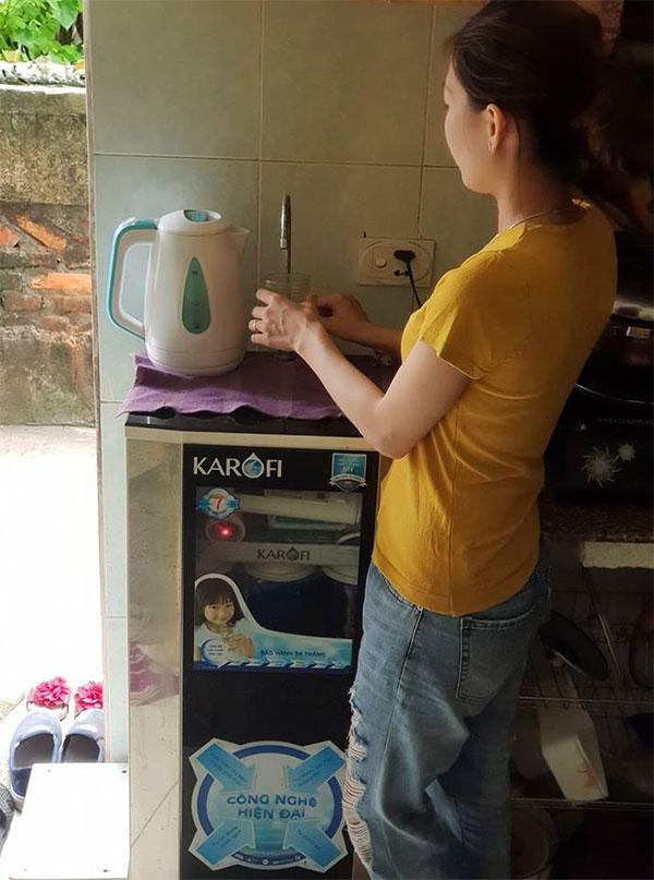 Thuê máy lọc nước phù hợp với gia đình đi thuê nhà