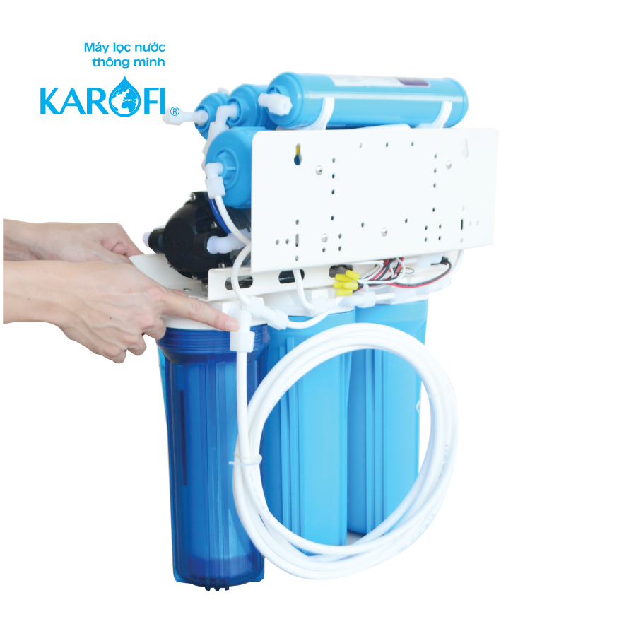 sơ đồ lắp máy lọc nước ro