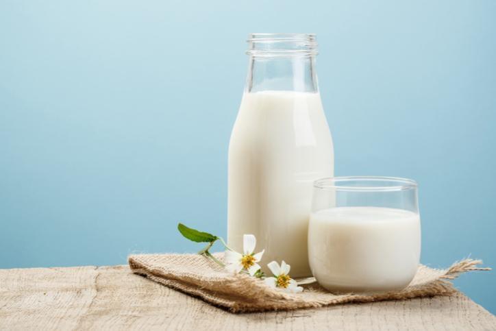Sữa giúp chữa hết cay nhanh chóng