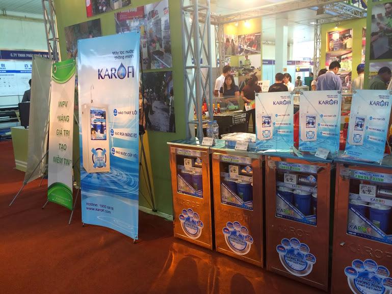 Máy lọc nước tinh khiết ro thương hiệu Karofi