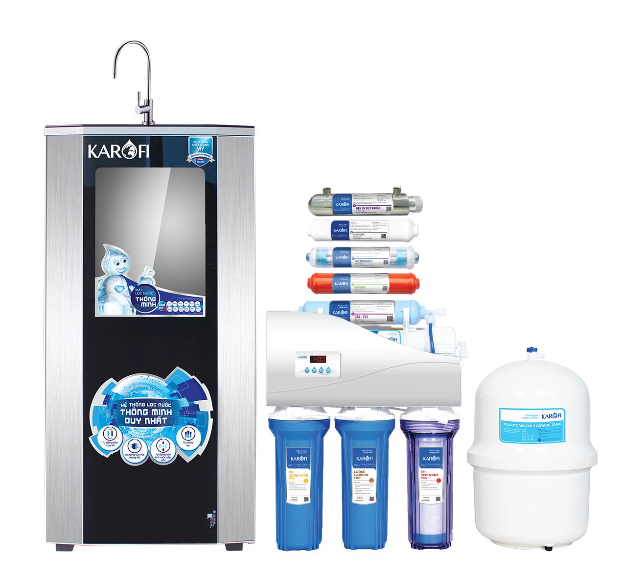 Máy lọc nước Karofi iRO 1.1, 9 cấp