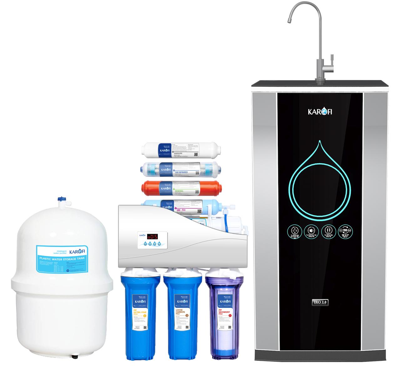 Máy lọc nước thông minh Karofi iRO 2.0