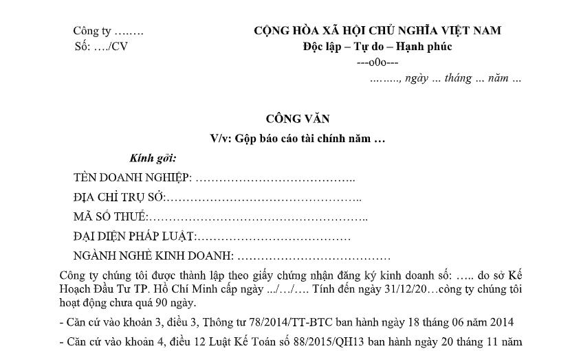 mau-cong-van-gop-bao-cao-tai-chinh