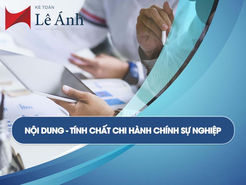 noi-dung-tinh-chat-chi-hanh-chinh-su-nghiep