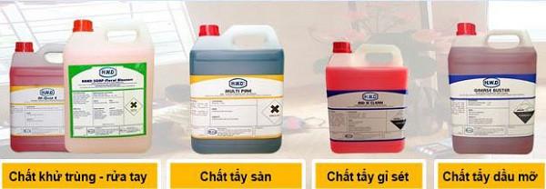 Cách phân loại hóa chất thông dụng