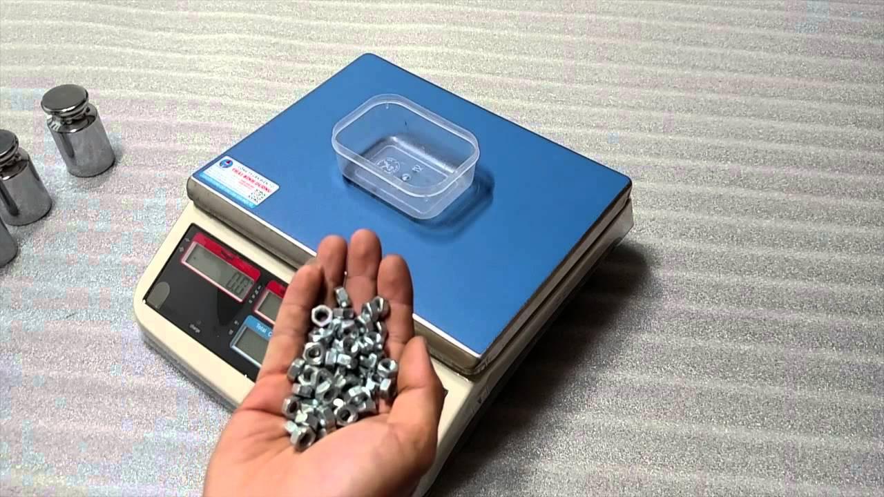 Hình ảnh cân đếm điện tử được sử dụng phổ biến hiện nay