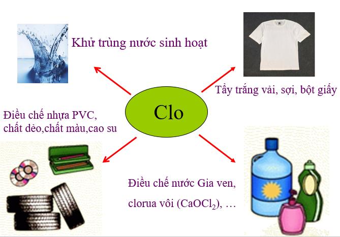 Ứng dụng của Clo trong đời sống