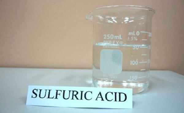 Hóa chất tinh khiêt Axit sunfuric