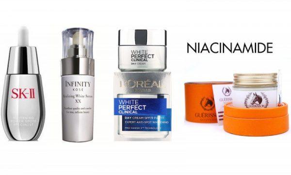 Một số sản phẩm có chứa Niacinamide