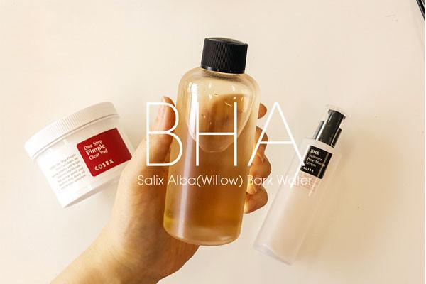 Sản phẩm trị mụn chứa hoạt chất BHA