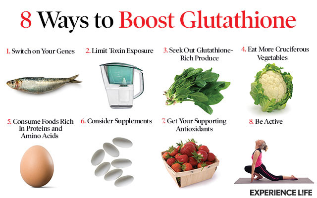 8 cách bổ sung glutathione cho cơ thể