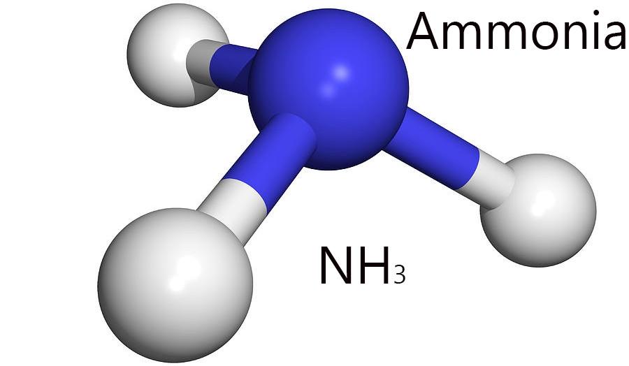 Cấu tạo phân tử của khí Amoniac