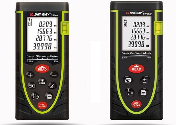 Máy đo khoảng cách laser cho kết quả chính xác
