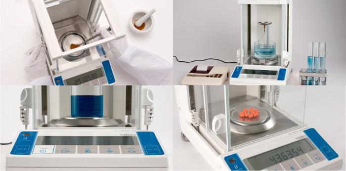Cân dùng để cân các loại mẫu phẩm thí nghiệm