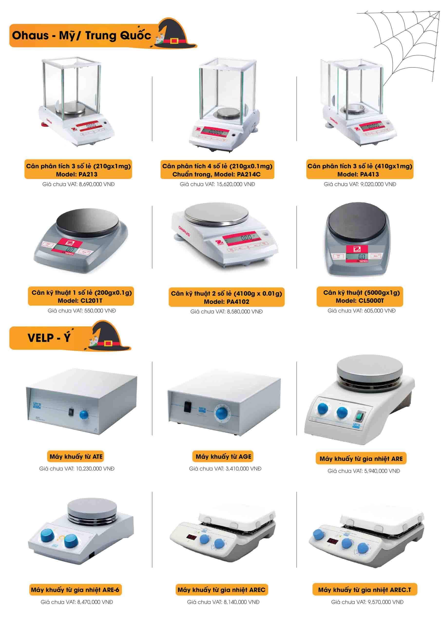 Cân phân tích, kỹ thuật và máy khuấy từ