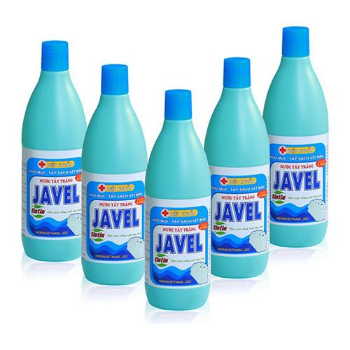 Hóa chất diệt nhuộm - Hình ảnh minh họa dung dịch Javen