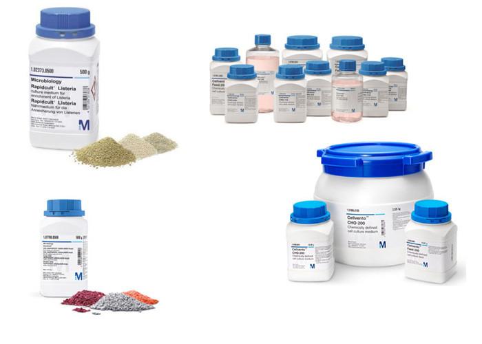 Hình ảnh hóa chất Merck Hà Nội được sử dụng phổ biến trong phòng thí nghiệm