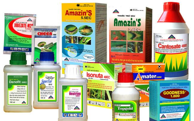 Nguyên nhân sử dụng thuốc bảo vệ thực vật là để diệt trừ sâu hại, bảo vệ mùa màng