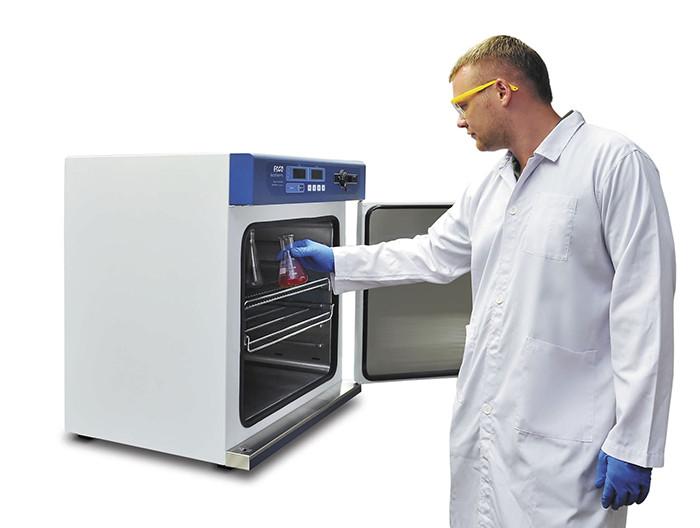 Tủ sấy được sử dụng để khử trùng các loại dụng cụ thí nghiệm
