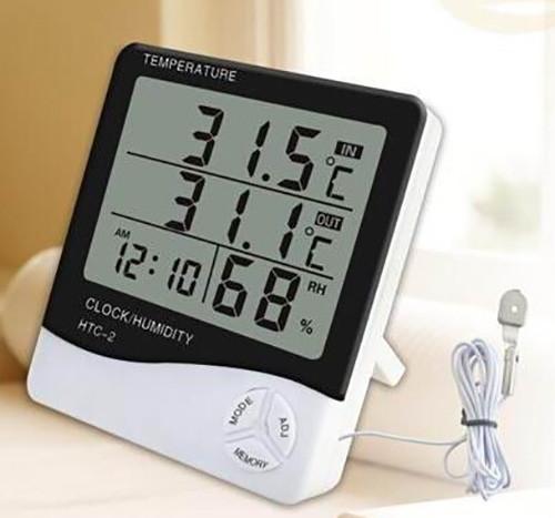 Những lý do nên sử dụng đồng hồ đo độ ẩm, nhiệt độ