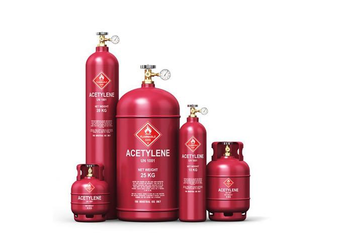 Dung môi aceton dùng để nén khíAcetylene