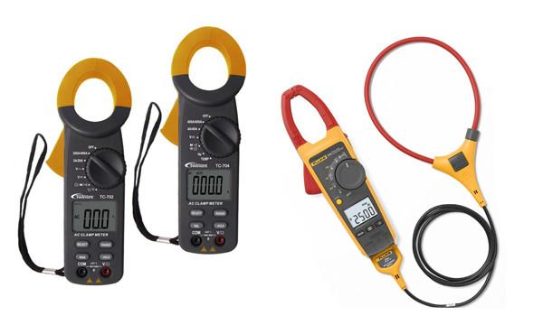 Các loại Ampe kìm với 2 loại được sử dụng phổ biến