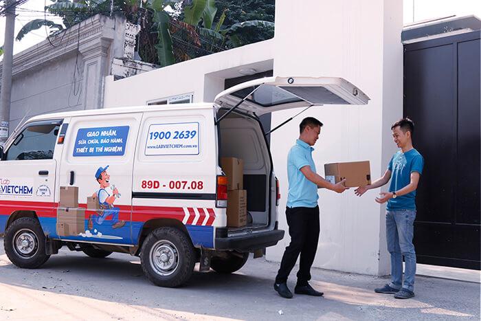 Dịch vụ giao hàng tại LabVIETCHEM chuyên nghiệp, nhanh chóng