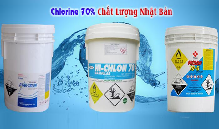 Chlorine là một loại hóa chất phổ biến