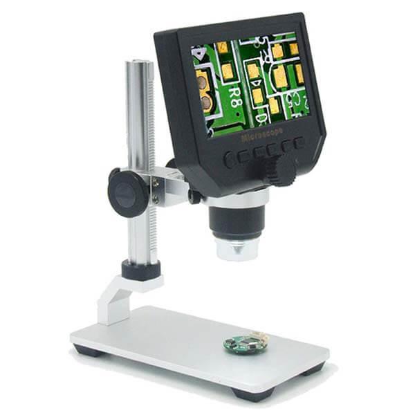 Hình ảnh kính hiển vi điện tử phòng thí nghiệm