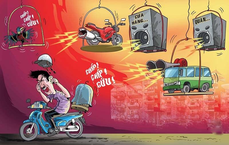 Máy đo độ ồn nhằm giải quyết vấn đề ôn nhiễm tiếng ồn