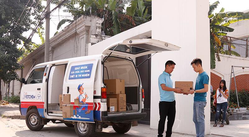 LabVIETCHEM giao hàng nhanh chóng, chuyên nghiệp trên mọi miền Tổ Quốc