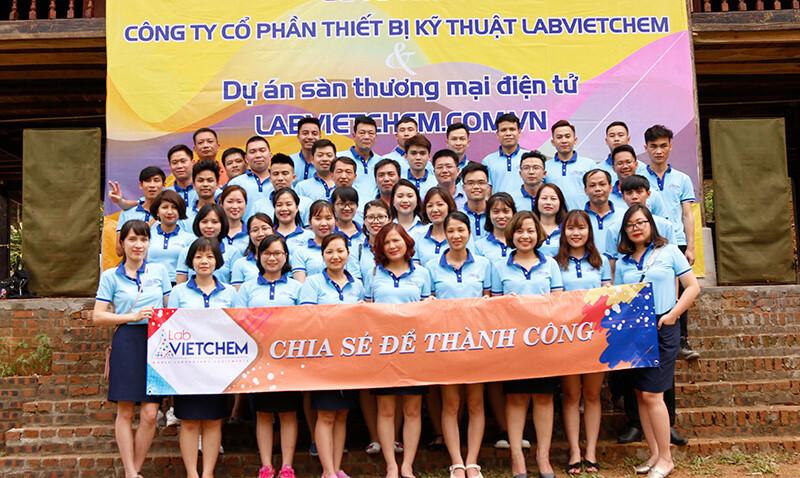 Hình ảnh toàn thể CBCNV LabVIETCHEM