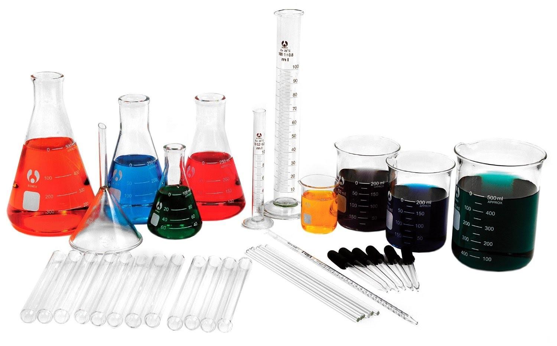 Các loại hóa chất trong phòng thí nghiệm
