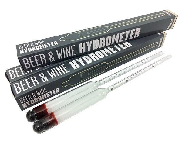 Tỷ trọng kế đo bia và rượu