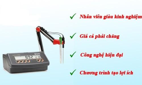 Lợi ích khi mua máy đo độ pH tại LabVIETCHEM